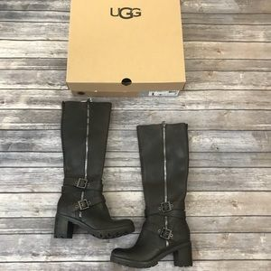 49c6f6b33c2 82% off UGG Shoes - chestnut Sunburst Tall Ugg Boots from Hilary's ...